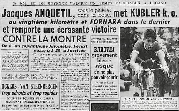Anquetil Lugano 1953