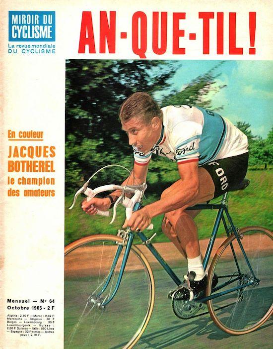 Anquetil Miroir Cyclisme 1965