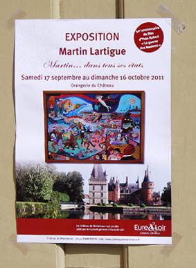 Martin Lartigue et Jean-Denis Robert exposent au château ... ou les (beaux) dommages collatéraux de la Guerre des Boutons d'Yves Robert dans Coups de coeur affichelartigueblog1dsc2222
