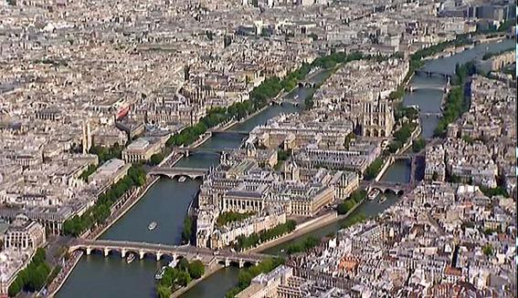 Les ponts de paris le tour de l le de la cit 1 a l 39 encre violette - Les cents ciels paris 11 ...