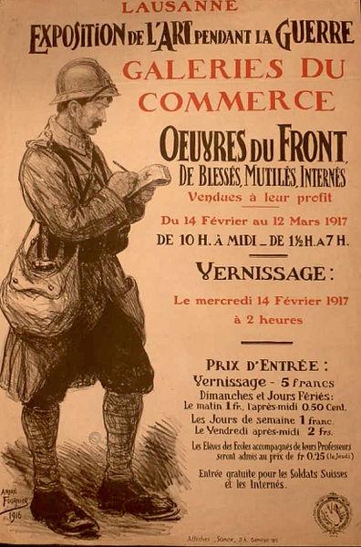 396px-André_Fournier_affiche_expo_Art_pendant_la_guerre_Lausanne_1917