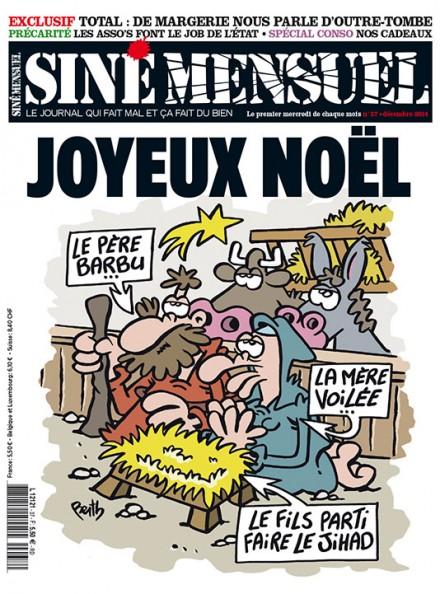 couverture Siné-Hebdo