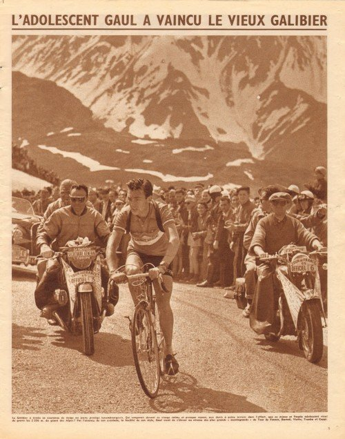 Tour 1955 Gaul Galibier