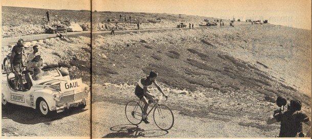 1958 - BUT et CLUB - Gaul dans Ventoux