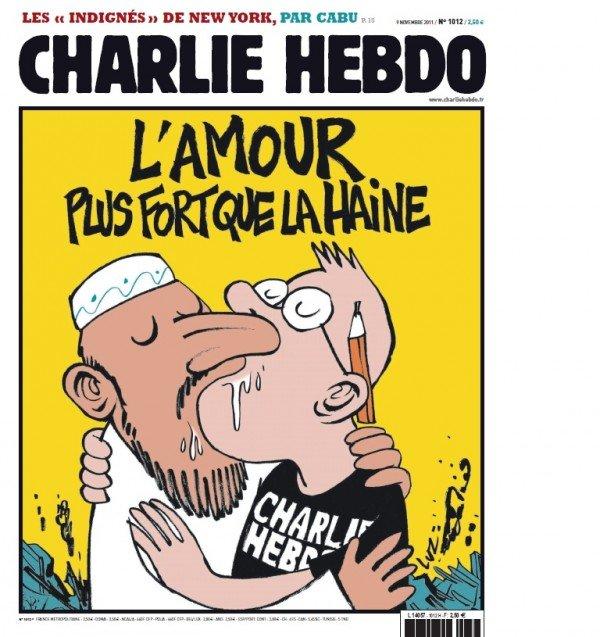Charlie-Hebdo L'amour plus fort que la haine