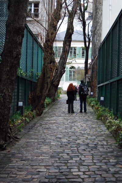 Allée musée vie romantique blog