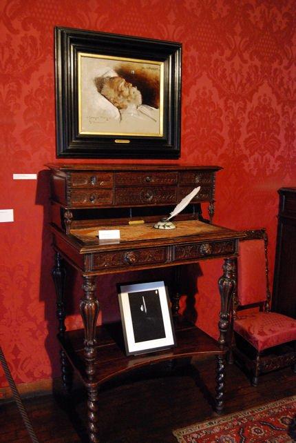 Maison Hugo écritoire blog