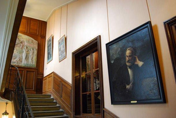 Maison Hugo escalier blog