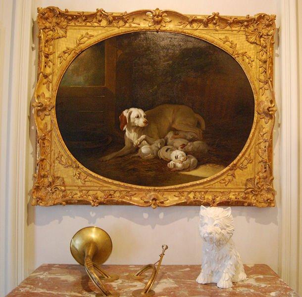 Musée Chasse blog La Lice d'Oudry et le chien de Koons