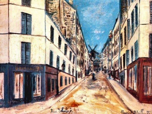 Utrillo rue Tholozé