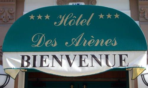 Hôtel des Arènes blog