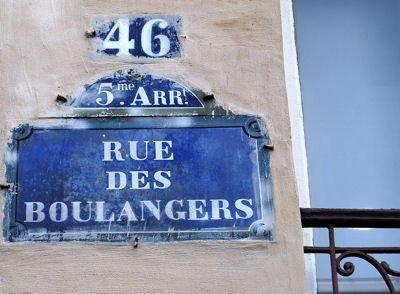 rue des Boulangers blog