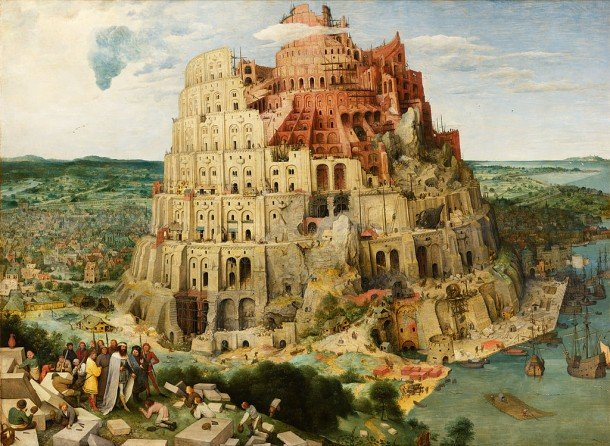 Babel Brueghel blog