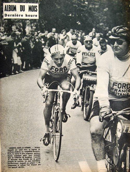Tour 65 Anquetil Bordeaux-Paris blog