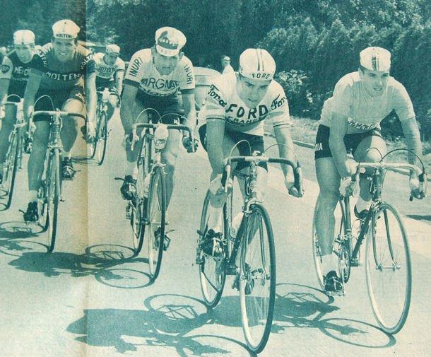Tour65 Van Looy en jaune vers Roubaix blog