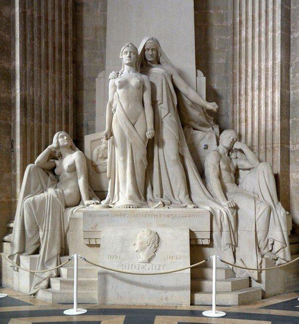 Panthéon monument aux Encyclopédistes