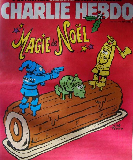 Charlie Hebdo Noel blog1