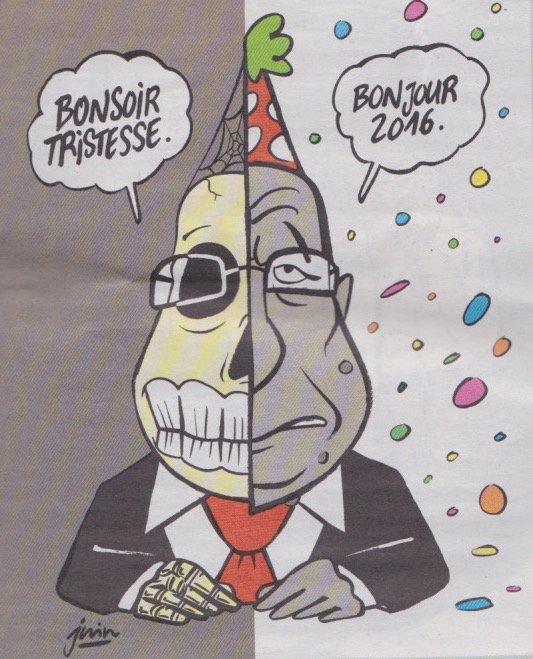CharlieHebdo année 2016