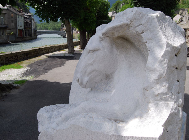 Saint-Béat brebis blog