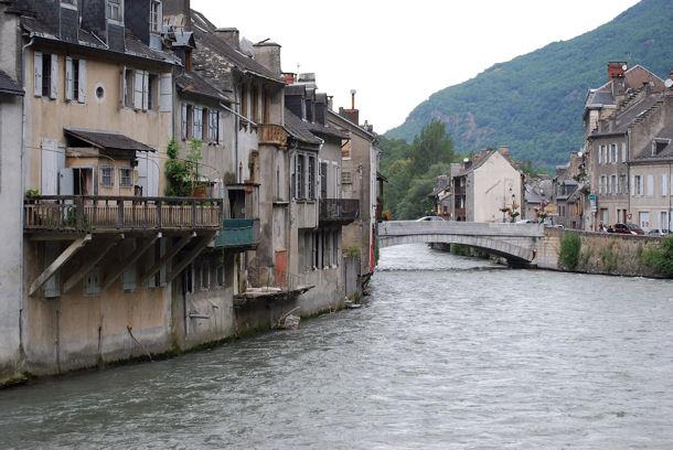 Saint-Béat le  pont blog