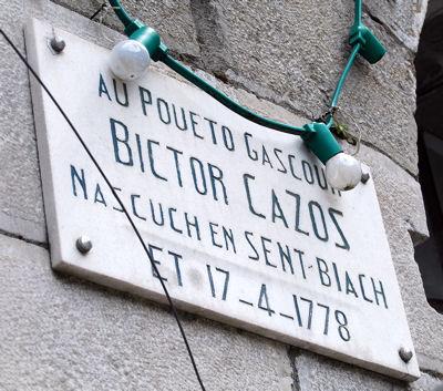 Saint-Béat Victor Cazes blog