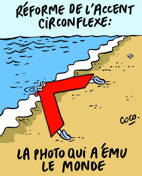 Circonflexe Charlie Hebdo