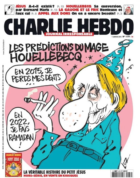 Une de Charlie du 7 janvier