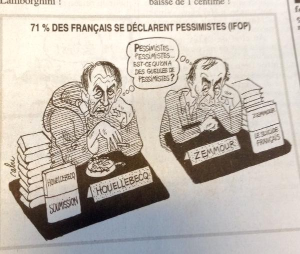 Zemour et Houellebecq