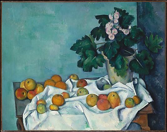 Primevères Cézanne blog