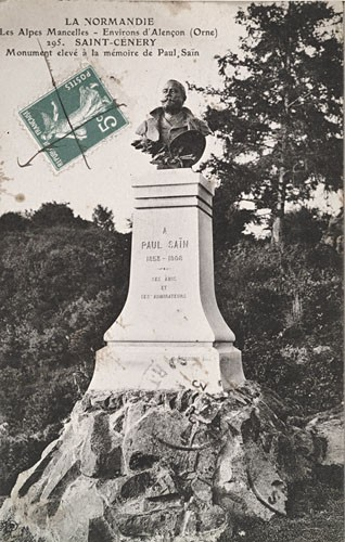 ancien monument Paul Saïn