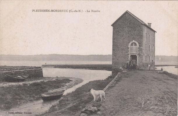 carte Moulin à marée de Mordreuc