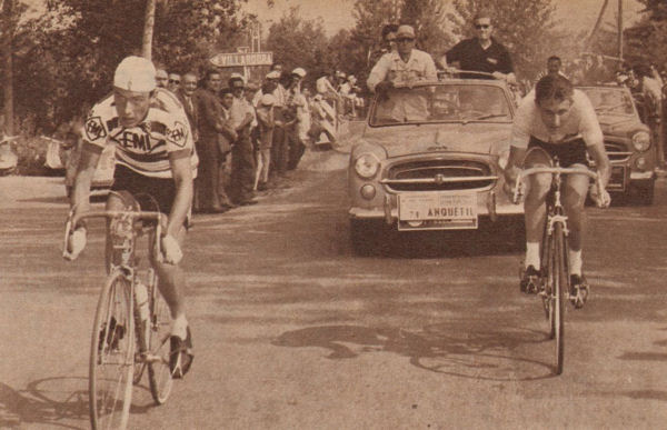 Giro 1959 Anquetil-Gaul blog