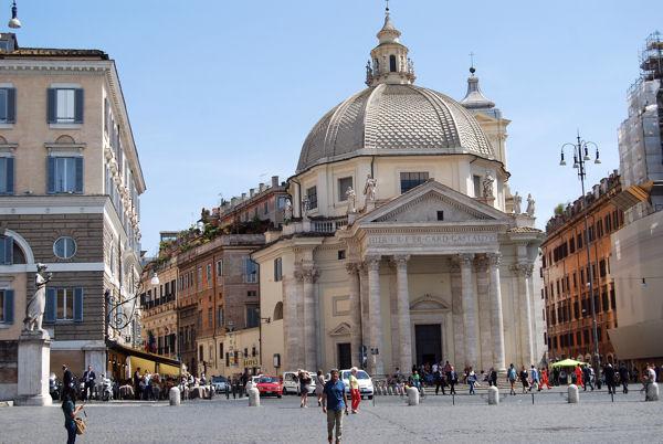 Piazza del Popolo église blog5