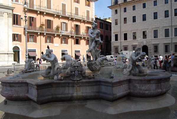 Piazza Navona Neptune  blog 10