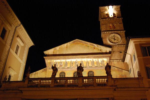 Roma Santa Maria de Trastevere blog1