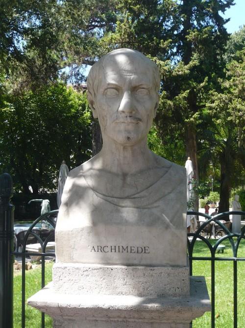 Buste Archimède Pincio blog