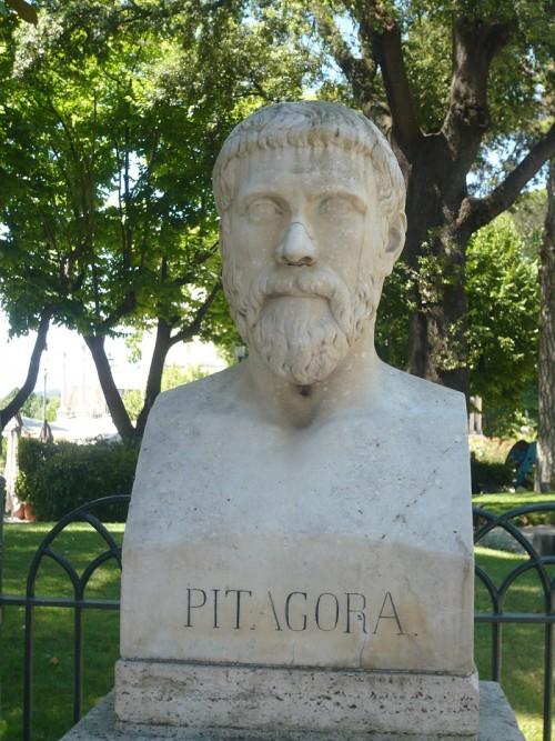 Buste Pythagore Pincio blog
