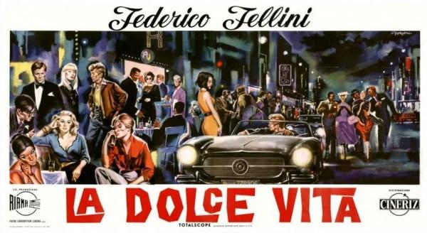 Affiche La Dolce Vita blog