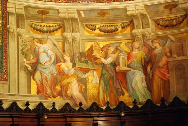 Basilique Trastevere interieur blog 3