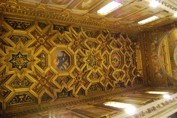 Basilique Trastevere interieur blog 4
