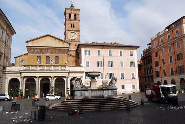 Piazza Trastevere blog 1