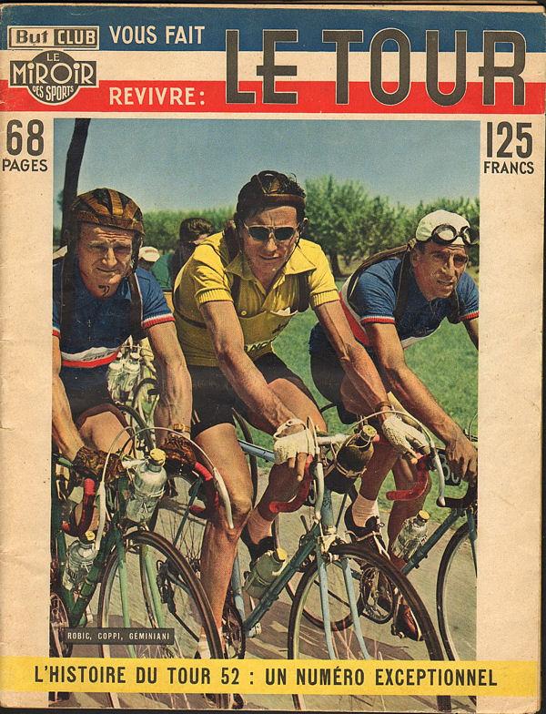 1952 - BUT et CLUB - Le TOUR - Spécial couverture