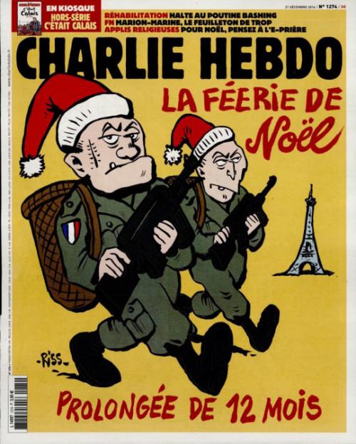 Charlie Hebdo 21 decembre 2016