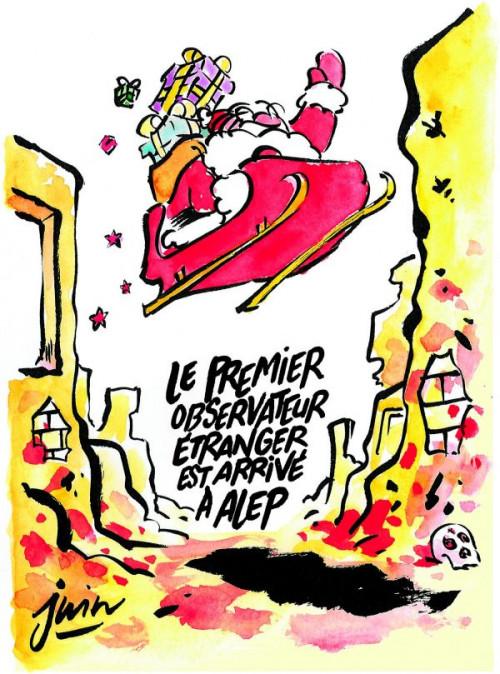 Charlie Hebdo Alep