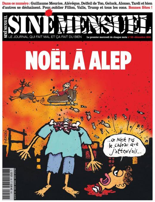 Noêl à Alep Siné mensuel