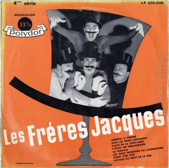 Freres Jacques pochette