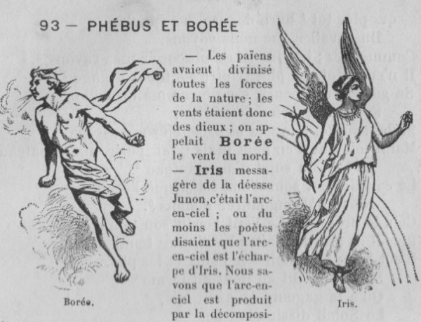 Fable Phébus et Borée