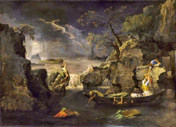 Poussin-Deluge