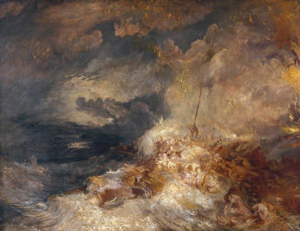 Turner-Désastre en mer