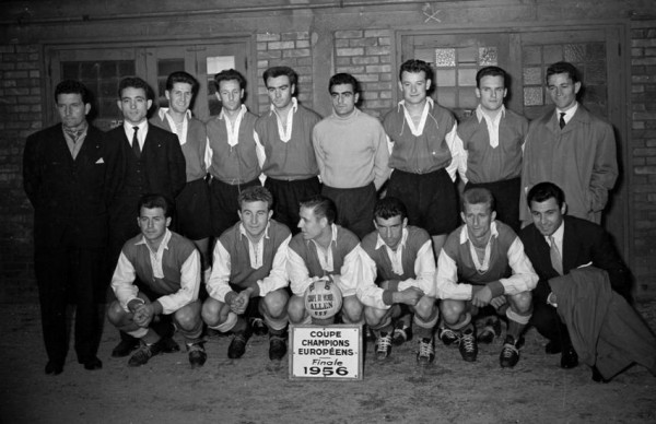 Equipe de Reims Finale 1956